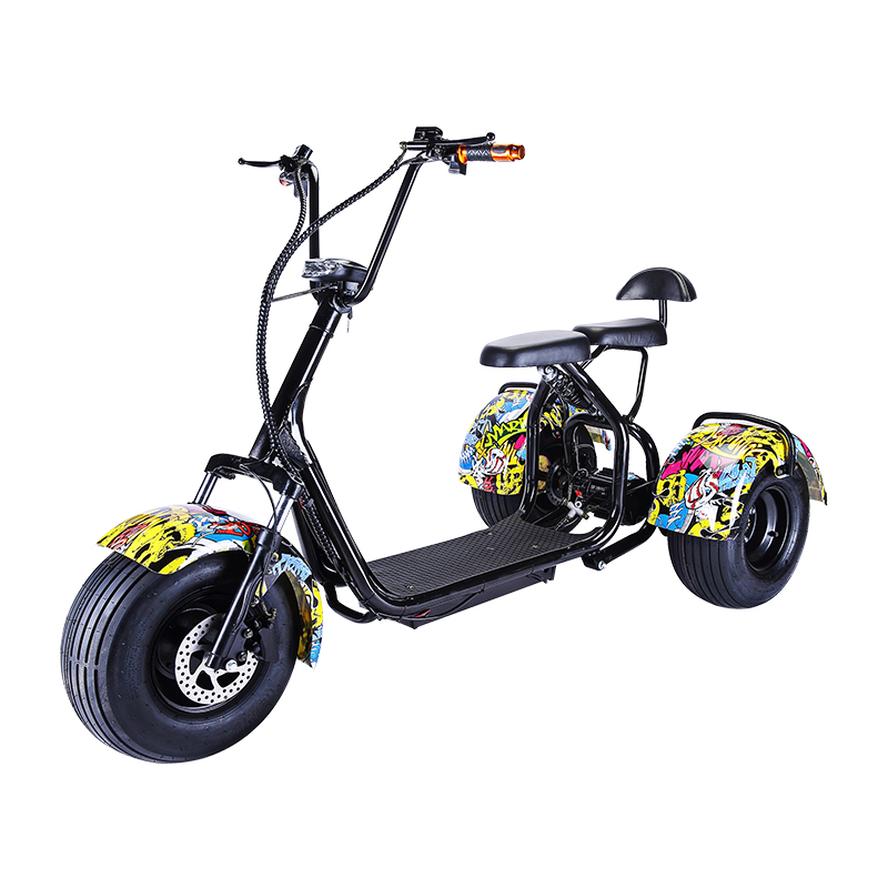KXE-09 3-WHEELS CITYCOCO SCOOTER